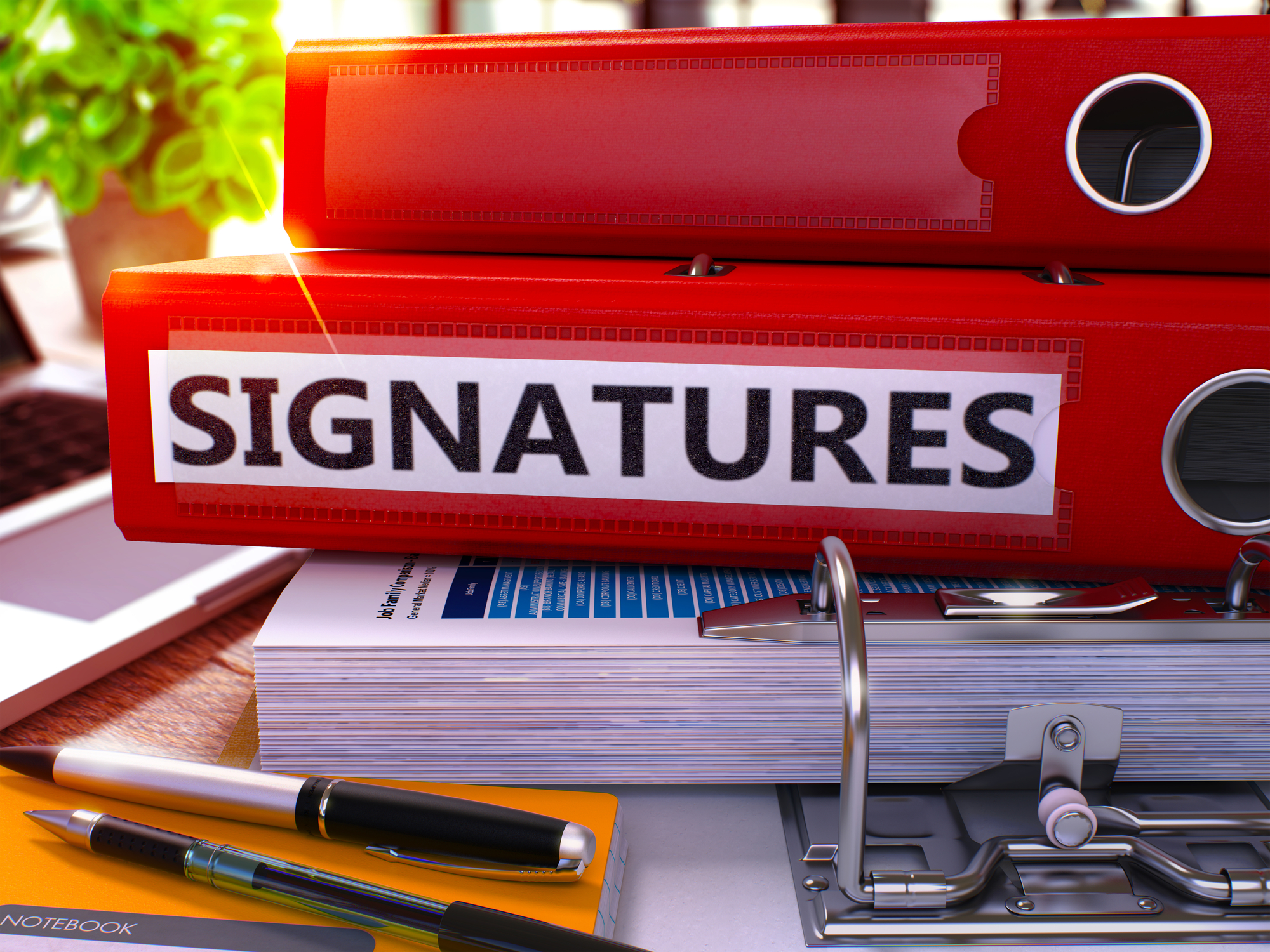 Digital Signatures Facilitate Administration